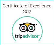 Certificate of Excellence 2012
